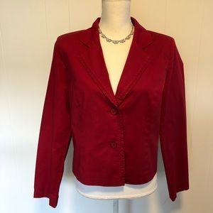 Monterey Bay lined blazer size 12.